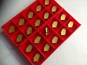 20 X Gtn 3 Grooving parting off Inserts New