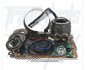 Chevy 4l60e Transmission 3 4 Power Pack Rebuild Deluxe Kit 97 03 Shallow Pan
