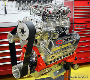 427ci Small Block Chevy Blown Pro Street Engine 775hp Built To Order Dyno Tuned
