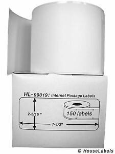 25 Rolls Of 1 part Ebay Internet Postage Labels Fits Dymo Labelwriters 99019