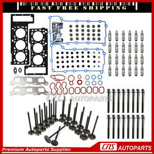Timing Chain Cam Phasers Solenoid Valves Valve Cover Gasket Kits Ford 5 4l 3v