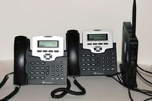 Vertical Xcelerator Complete Ip Voip Sip Phone System 1x 7500 00 2x 7504 00