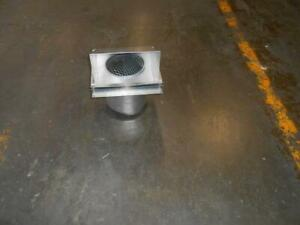 Field Control Co Swh 8 84 swh 8 8 Aluminum Vent Hood 170401