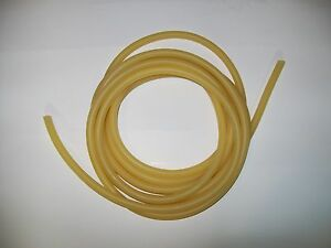 3 8 I d X1 16 W X 1 2 O d 50 Feet Surgical Latex Rubber Tubing Amber