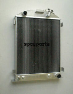 New Model a Radiator Chevy engine Ford grill shells 3 Row 1928 31 1929 1930 1931