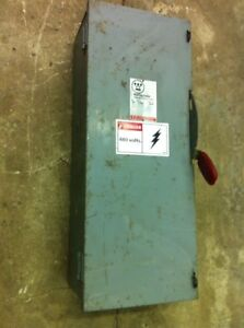 Westinghouse Fused 100 Amp Heavy Duty 600 Ac Safety Switch