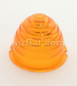 Mercedes 300 Sl Gullwing 1954 57 Amber Front Round Turn Signal Lens