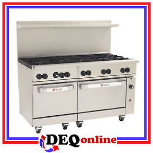 Wolf C60ss 10b Challenger Xl Gas Restaurant Range 10 Burners 60 Wide Ng Or Lp