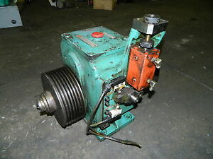 Yamaai 2 speed Gearbox Off Nakamura tome Slant 1 Cnc Turning Center Nty11 Used