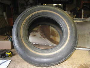 Nos Bf Goodrich Lifesaver Classic T a Hr60 14 Low profile Whitewall Vintage Tire