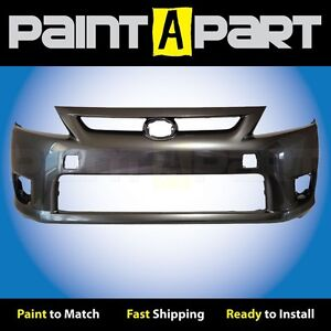 2011 2012 2013 Scion Tc Front Bumper Painted 1g3 Magnetic Gray Metallic