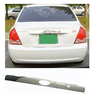 Rear Trunk Garnish Chrome 1p For 2005 2006 Hyundai Elantra