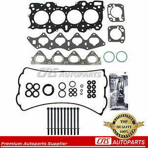 Head Gasket Set Bolts Kit B18c Acura Integra 1 8l Gs R Type R B18c1 B18c5 Engine
