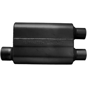 Flowmaster 40 Series Delta Flow Muffler 3 Offset In 2 5 Dual Out 9430412
