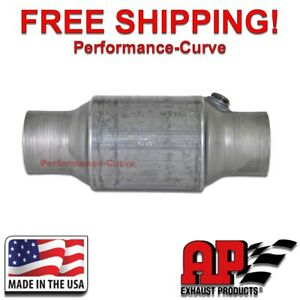 2 5 Catalytic Converter O2 High Flow For Late Models Federal Emissions