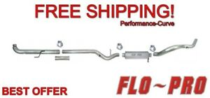 4 Exhaust System Stainless Ss Flo pro Ss801 Fits 01 07 Gm Duramax 6 6l
