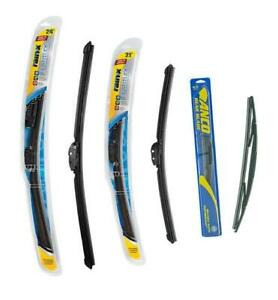 Enclave Traverse Acadia Outlook Front Rr 2 Rain X 1 Anco Wiper Blades 3pc