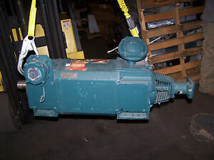 New Reliance 13 3 Hp Dc Motor W Encoder 500 Rpm 3 Phase 180 L2177 Frame