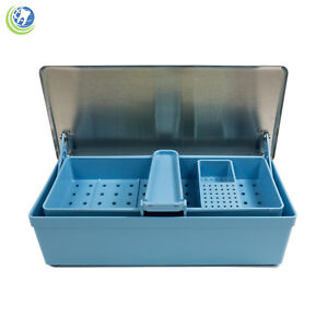 Germicide Tray Cold Sterilization Dental Medical Tattoo Instrument Case 164 2010