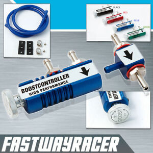 Universal Blue Turbo Manual Boost Controller Mt Mbc Psi Mk1 Mk2 Mk3 Mk4 Mk5 1 8t