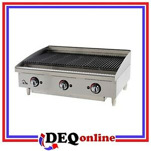 Star 6136rcbf Star max 36 Heavy Duty Radiant Gas Char broiler