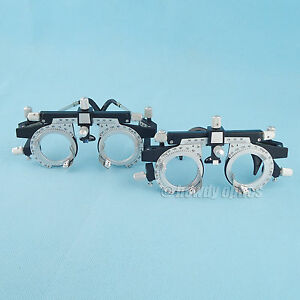 2pcs Optical Trial Frame Universal Trial Lens Frame Fully Adjustable New