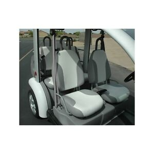 Ford Think Neighbor Car Seat Covers Set Grey And White 4 Pass