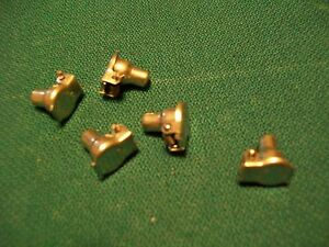 Delco Generator Starter Oil Cups Steel 3 16 Hole Spring Cap Grease Cup Lot Of 5