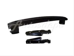 For 1996 2000 Civic Cpe Sdn 3dr Front Bumper Reinforce Bar Side Stay Bracket 3pc