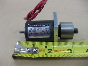Isliker Magnete Gkb 32 24 Vdc Solenoid Actuator Made In Germany