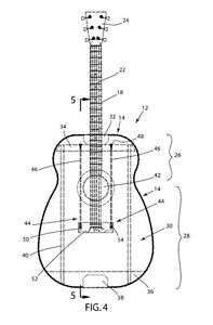 Acoustic Guitar Bracing System Patent