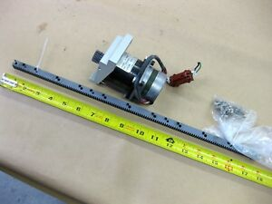 Applied Motion Control Stepper Motor Pinion Rail Rack Spur Stepping Model 23 Cnc