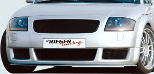 Audi Tt 8n 1998 2006 Genuine Rieger Brand Front Spoiler Rs4 Style New