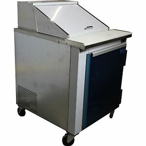 Coolman Commercial Refrigerated Sandwich Prep Table 27