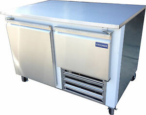 Coolman Commerical 1 1 2 Door Low Boy Worktop Refrigerator 48