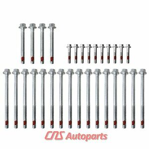1st Design Cylinder Head Bolt Set Gm Chevrolet 4 8l 5 3l 5 7l 6 0l Ohv V8 Vortec