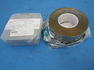 Lot Of 2 Laminated Films Packaging Thermal Reflective Tape 2 X 55 Yds New