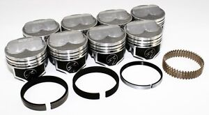 Sealed Power Chevy 350 4 060 275 Domed Pistons Moly Rings Kit Sbc H617cp60