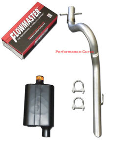 1991 1996 Jeep Wrangler Performance Exhaust W Flowmaster Super 44 Muffler