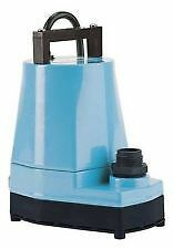 Little Giant 1 6 Hp Submersible Sump utility Pump