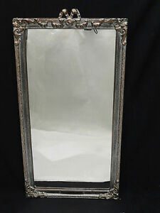 Antique Neo Classical Ornate Early 20 C Italian Mirror 31 X 17
