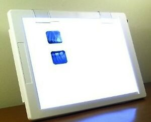 Slim Light X ray Film Negative Viewer Illuminator Light Box 12x8 5 View Area