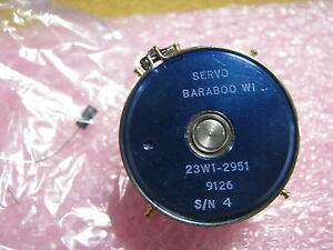 Servo Variable Resistor 23w1 2951 Nsn 5905 00 149 8591 62911002 1 Dual Mkt