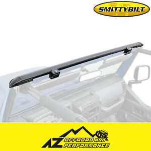 Smittybilt Windshield Header Channel For 1997 2006 Jeep Wrangler Tj Lj 90104