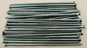 30 Hex Head 3 8 X 12 Lag Bolts Zinc Plate Wood Screws