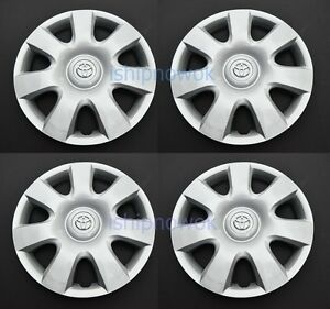 Set 4pc Wheel Rim Covers Caps For Toyota Camry Corolla 15 Hubcap Camery 61115
