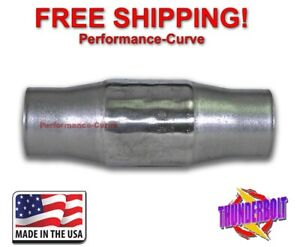 3 Thunderbolt Metallic Catalytic Converter High Flow Stainless Steel 300 Cell