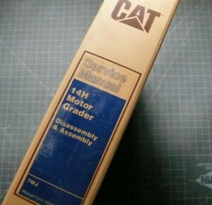 Cat Caterpillar 14h Motor Grader Repair Shop Service Manual Disassembly Road Oem