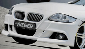 Bmw Z4 E85 E86 Roadster Or Coupe 2006 2008 Rieger Genuine Front Bumper Spoiler