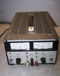 Kikusui Dual Tracking Dc Power Supply 120 Vac 105 Watt Model Pdm 35 3